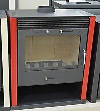 Holz-Ofen, Kaminofen, Holzofen, Kamin-/Ofenrohr, Brennkammer–21KW Heizleistung