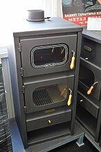 Holz-Ofen mit Holzofen Ofen Kochen Kamin festbrennstoffen betriebenen metalik13kw