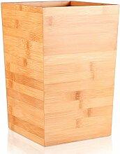 Holz Offenen Oben Papierkorb,kleiner Mülleimer