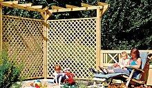 """Holz-Pergola Verlängerung Bausatz für die Terrasse als Verlängerung einer bestehenden Pergola """"Standard"""" aus druckimprägnierten Holz"""