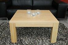 Holz-Projekt-Summer Couchtisch Ahorn 60x60 cm