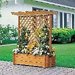 Holz Rankkasten mit Pergola 1/Stck  ,Länge:112cm