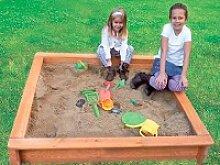 Holz Sandkasten Jonas und Leonie 1/Stck