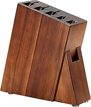 Holz Sechs Loch Holzmesserhalter Küchenzubehör