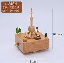 Holz-Spieluhr Kreative Geschenke Holz Handwerk
