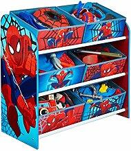 Holz Spielzeugregal AUSWAHL Frozen Cars Minnie Maus Mickey Maus Winnie Pooh Kinderregal Organizer (Spiderman)