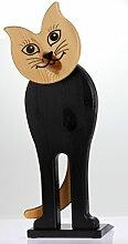 Holz Türstopper Katze Türkeil Stopper