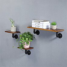 Holz- Wall Mount rack Regal Regal Wort kreative Leitungen eingerichtet, 20 x 20 cm flower Racks