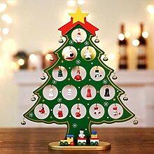 Holz Weihnachtsbaum Deko, Weihnachtsdekoration