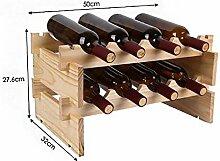 Holz Weinregal Dekoration Moderne Minimalistische