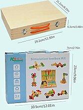 Holz Werkzeugkasten Kinder Und Zubehör Set