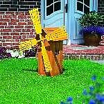 Holz Windmühle Apeldoorn 1/Stck  ,Höhe:79cm