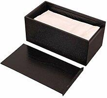 Holz Wohnzimmertisch Papiertücherbox Papierablage