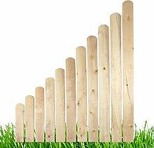 Holz Zaunlatten Holzzaun Balkonbrett Zaun Gartenzaun Zaunbrett Brett 15 Stück 110 cm