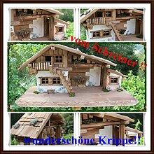 Holzbau Fuchs Weihnachtskrippe- Krippe