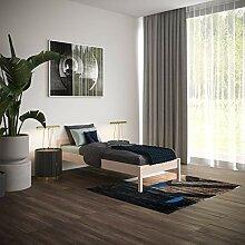 Holzbett 120x200 cm Kaja mit Rollrost - Einzelbett