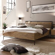 Holzbett im Loft Design Akazie massiv