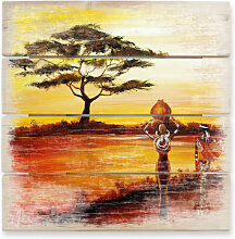 Holzbilder - Holzbild Fedrau - Afrika