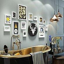 Holzbilderrahmen-Set zur Wandmontage Home Mall -