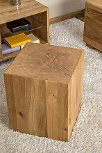 Holzblock Hocker