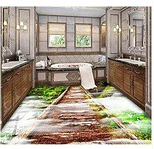 Holzbrücke Bäume Badezimmer Schlafzimmer 3D