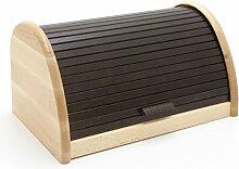 HolzFee BK-BR Buche Brot-Kasten 39 cm Holz Brotbox