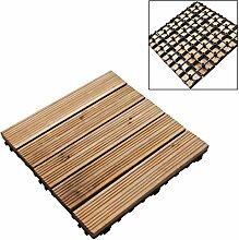 Holzfliesen, Verbundplatten für Garten, Terrasse,