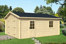 Holzgarage A 16m² / 40mm / 3×6