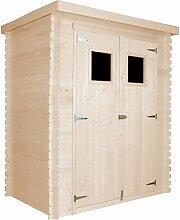 Holzhaus Gartenhaus M308+M308G - Gartenschuppen