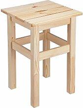 Holzhocker Hocker Beistelltisch aus Holz Belastbarkeit max.85kg 90001
