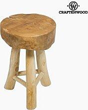 Holzhocker milan by Craftenwood