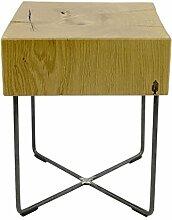 Holzhocker tabureto, Massivholz Design Hocker,