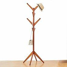 Holzkleiderständer Ständer, 8 Haken Coat Tree