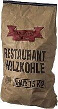HOLZKOHLE 15KG - Profi-Steakhouse-Grillkohle