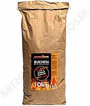 Holzkohle Buche für BBQ, Grillkohle groß, 10kg,