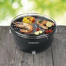 Holzkohle-Grill Gourmetmaxx ClearAmbient