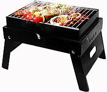 Holzkohlegrill, AlfaView Faltbare BBQ Grill