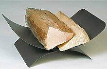Holzkorb VORARLBERG anthrazit beschichtet Holzkorb