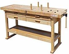 Holzmann – Werkbank Holz 1625 x 610 mm 4