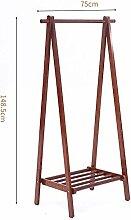 HolzmantelregalVerstellbare Kleiderstange