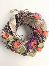Holzmichel Türkranz Zweige und Blüten 25 cm