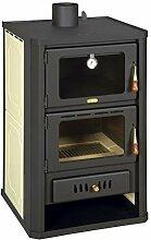 Holzofen mit Ofen für Zentralheizung 15+5 kW