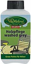 Holzpflege washed grey, 0,5 Liter