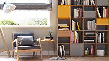 Holzregal Eiche - Modernes Regal aus Holz: