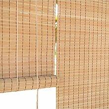 Holzrollo Bambus-Jalousien, Sichtschutz-Jalousien