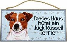 Holzschild Tierschild Hund Deko Jack Russell Terrier