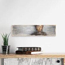 Holzschilder - Holzschild Thailand Buddha