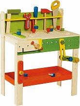 Holzspielzeug - Grosse Werkbank