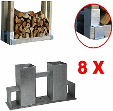 Holzstapelhilfe Stapelhilfe Holzstapelhalter