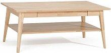 Holztisch aus Buche Massivholz Wohnzimmer